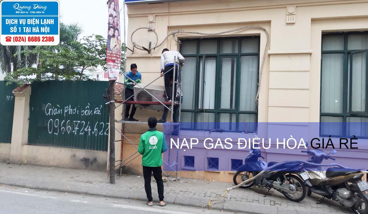 nap gas dieu hoa gia re