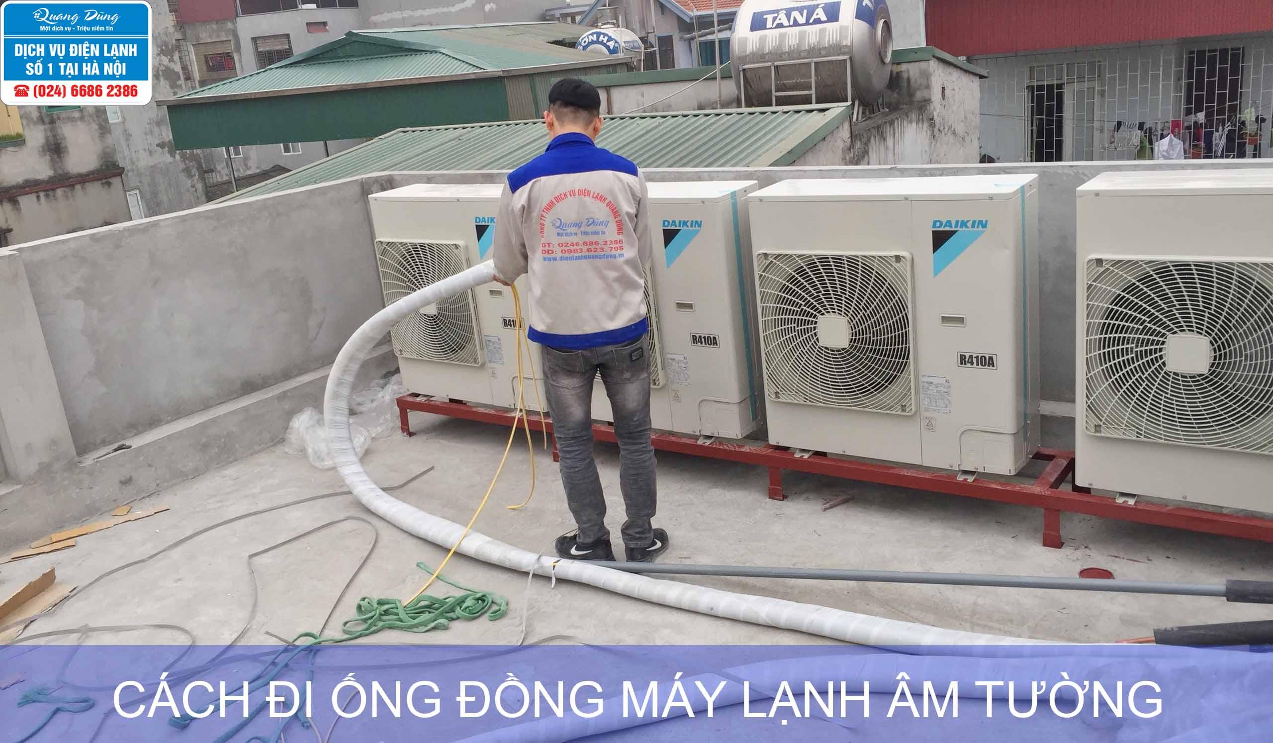 cach di ong dong may lanh am tuong