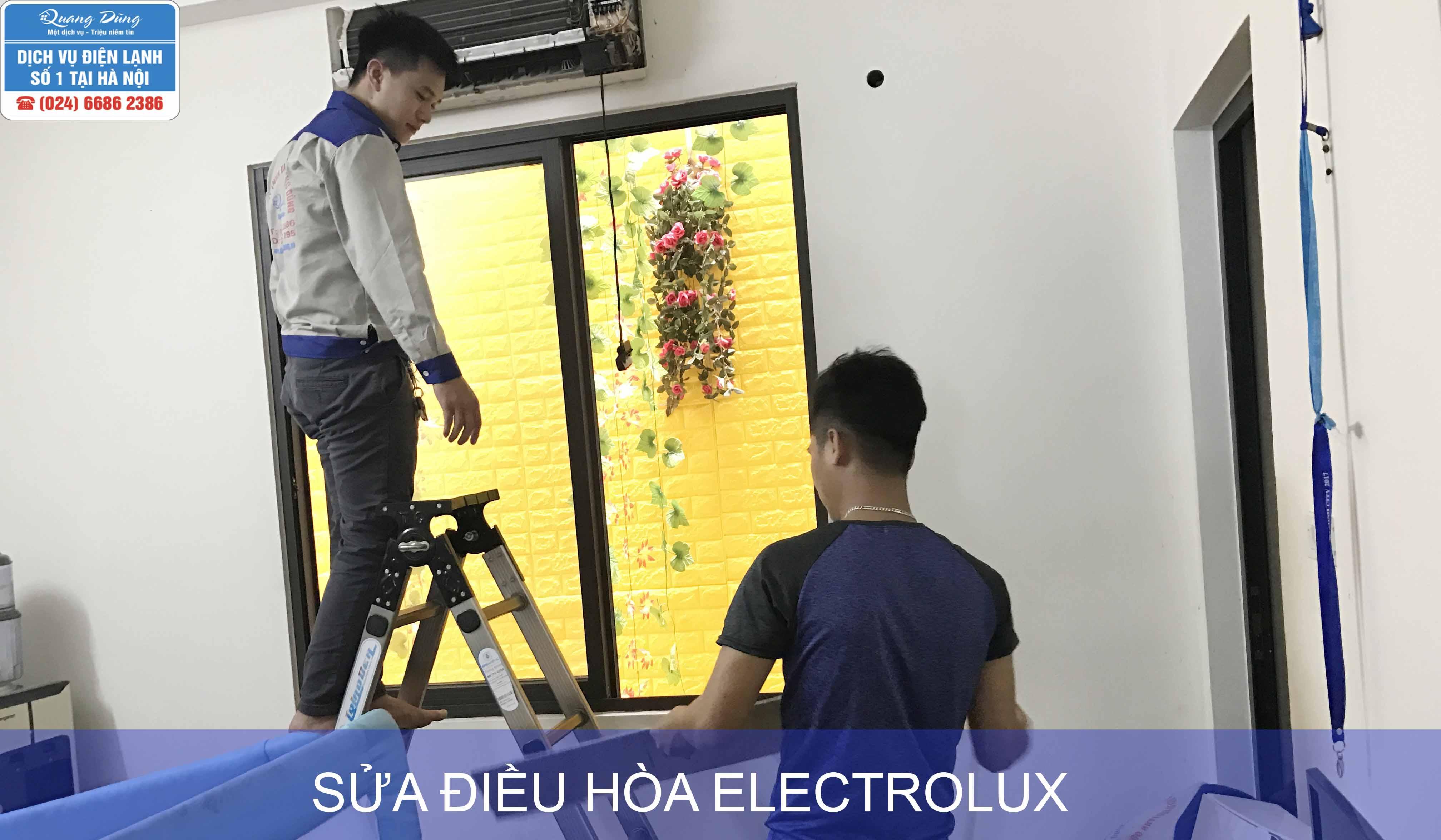 sua dieu hoa electrolux