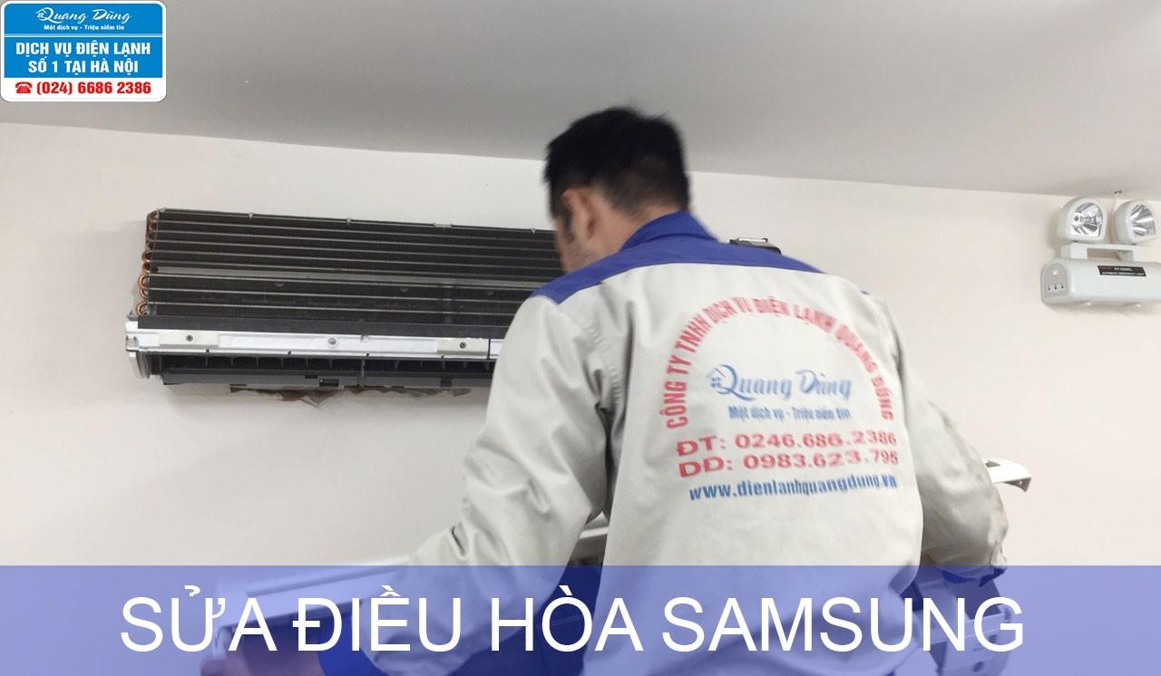 Sửa điều hòa Samsung