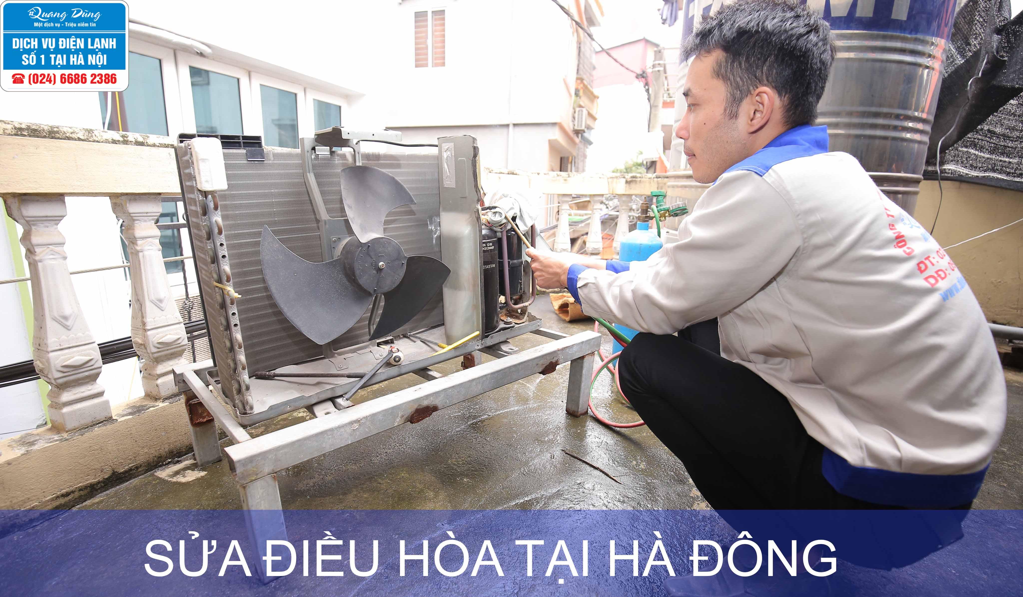 sua dieu hoa tai ha dong