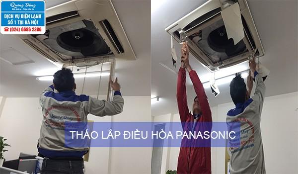 thao lap dieu hoa Panasonic