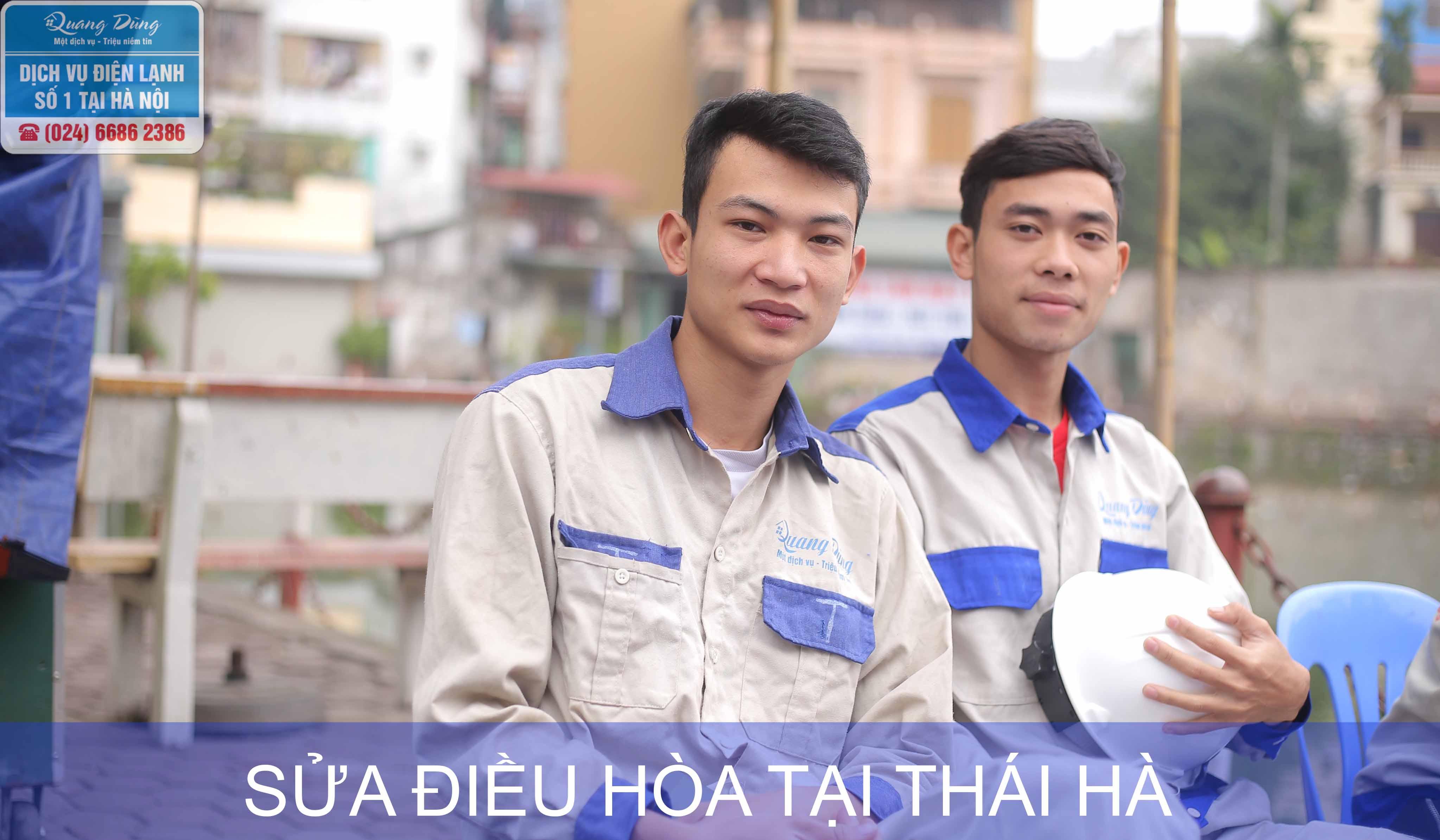Sửa điều hoà tại Thái Hà