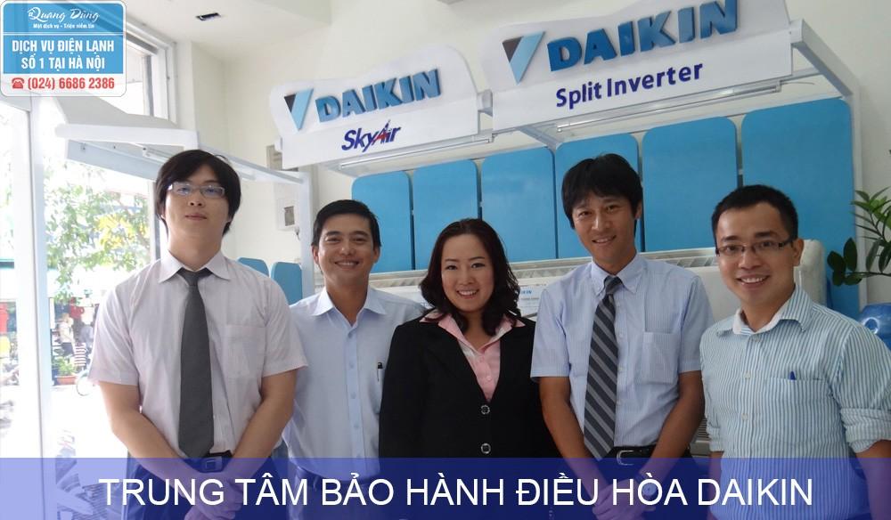 Trung tâm bảo hành điều hoà Daikin
