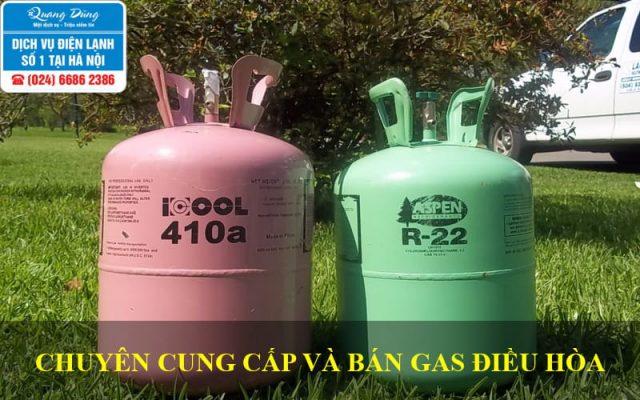 Bán và cung cấp gas điều hoà