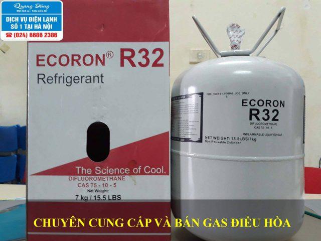 Bán gas điều hoà R32