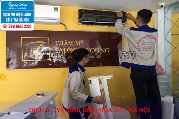 dịch vụ vệ sinh điều hòa
