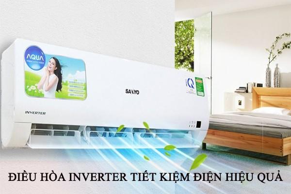 Sử dụng điều hòa Inverter là cách tiết kiệm điện rất hiệu quả