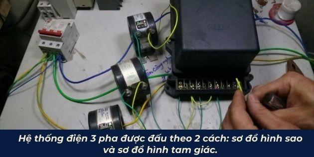 hướng dẫn cách đấu điện 3 pha