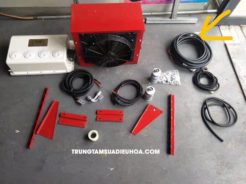 phụ kiện của máy điều hòa dùng điện 12v